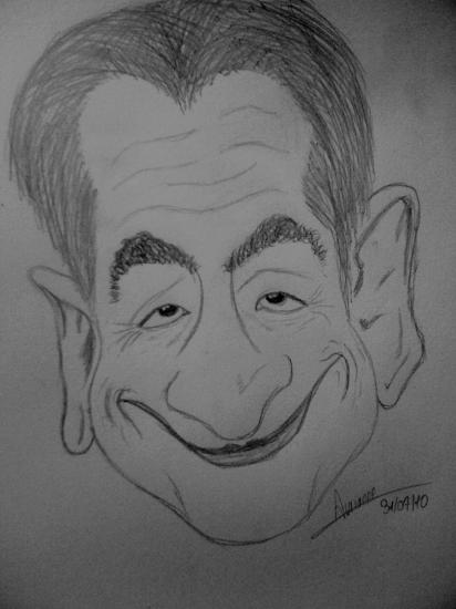 Nicolas Sarkozy by Aurianne